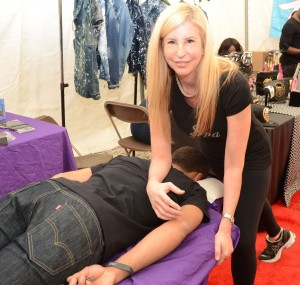 Sports Massage By Pain To Performance @ All Stars 2013