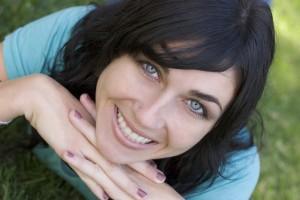 smile woman
